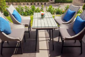 Decorate your open space with beautiful patio seat cushions