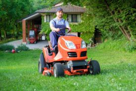 What makes people purchase from lawnmower sale?